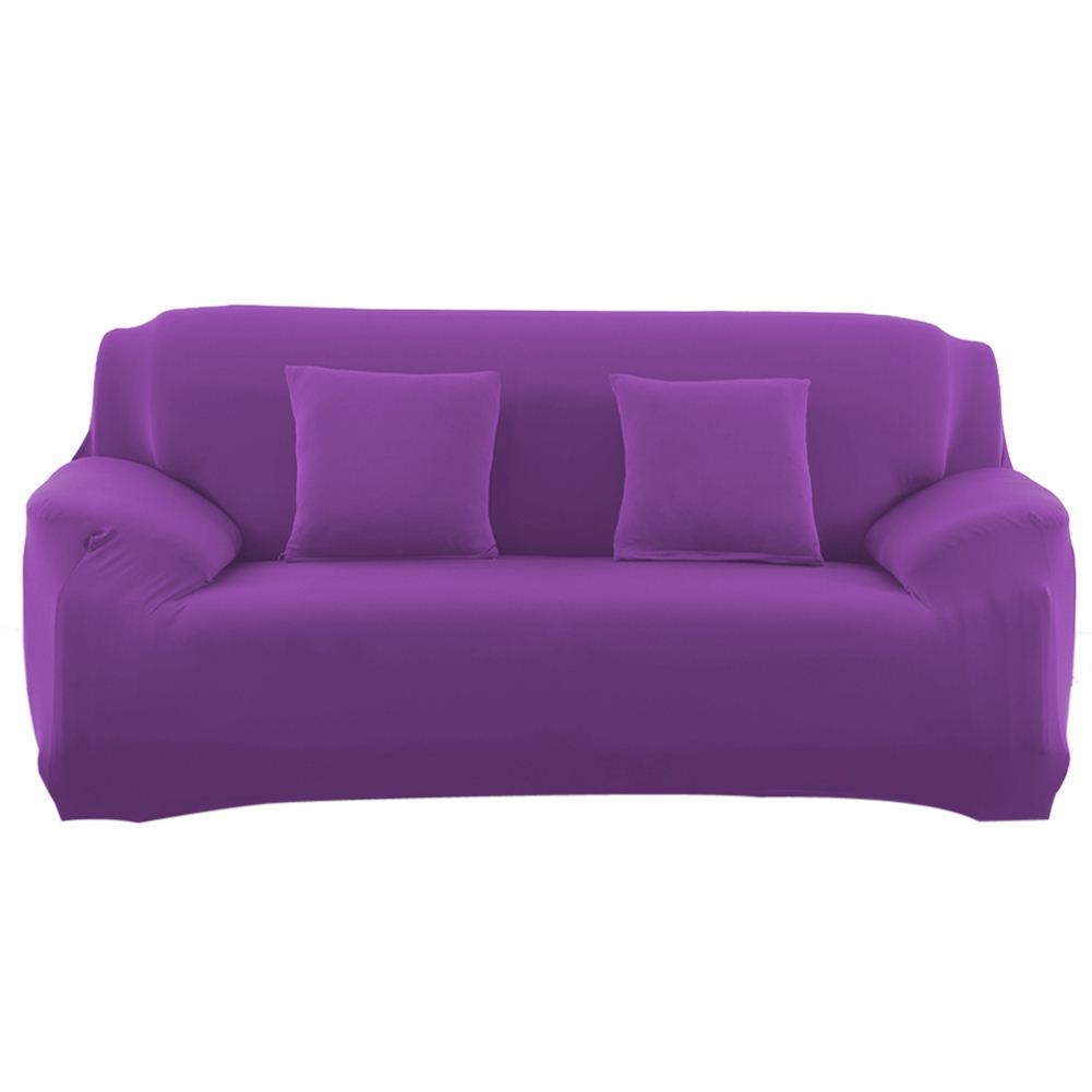 Spandex stretch sofa cover big elasticity couch cover for Sofa cushion covers washing machine