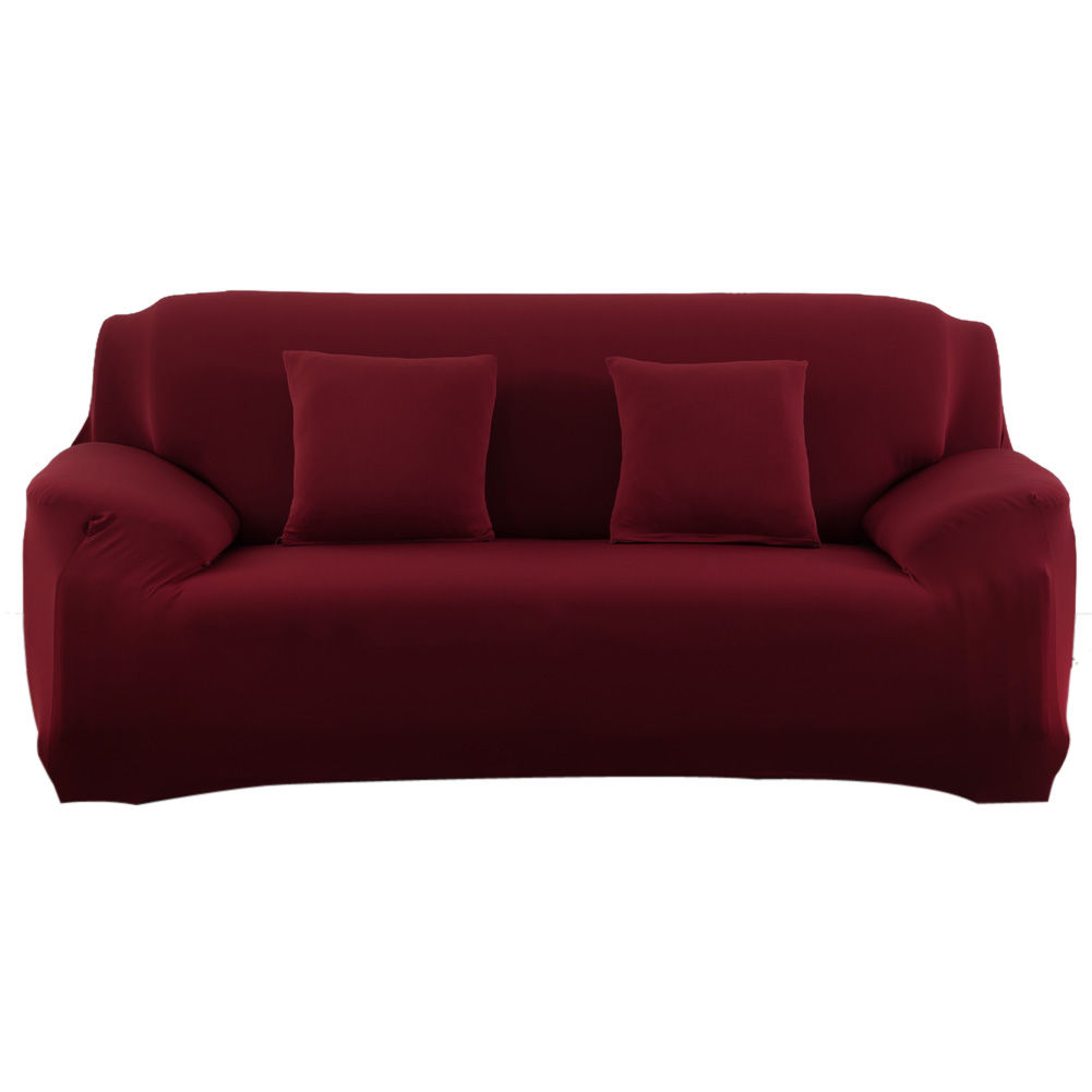 Spandex Stretch Sofa Cover Big Elasticity Couch Cover Loveseat Sofa Furniture Cover Pure Color