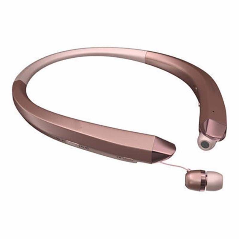 hbs 910 hbs910 hbs 910 wireless bluetooth 4 1 headset sports headphones collar neckband stereo. Black Bedroom Furniture Sets. Home Design Ideas
