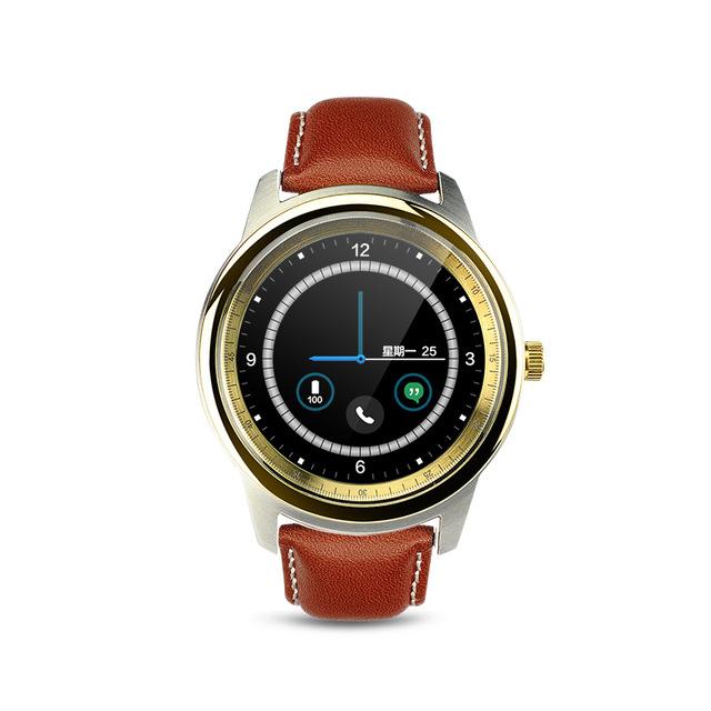 Dm365 Smart Watch Simple Thin Heartstrings Bluetooth 4.0 ...