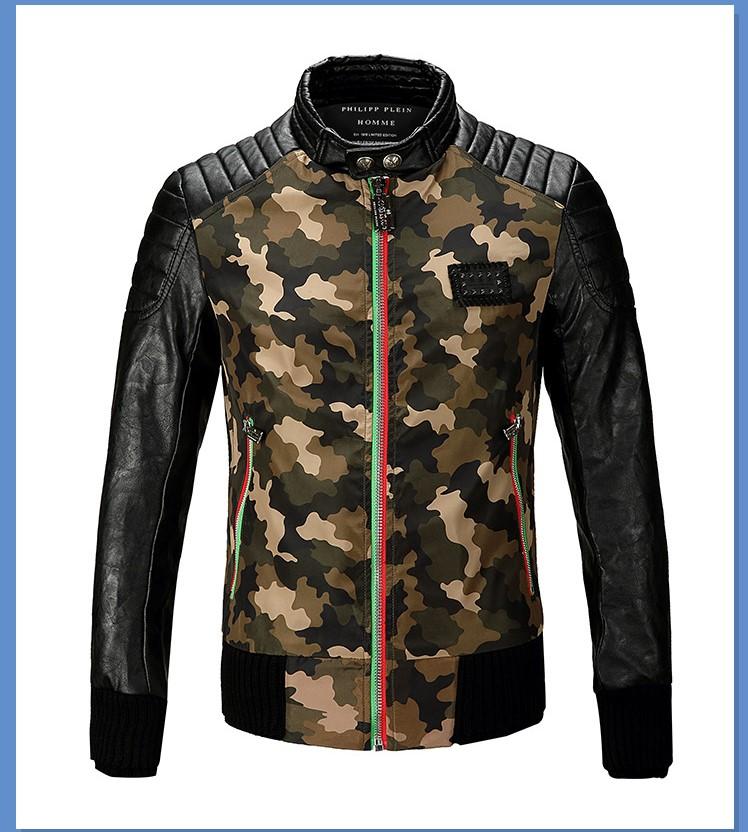 2017 korean punk veste leather jacket brand luxury men. Black Bedroom Furniture Sets. Home Design Ideas