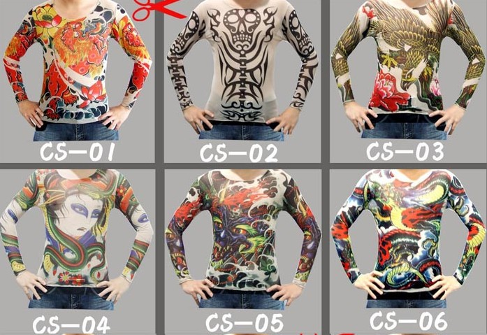 fashion prison break tattoo sleeve t shirt fun t shirt buy online t shirts from moneyball 17. Black Bedroom Furniture Sets. Home Design Ideas