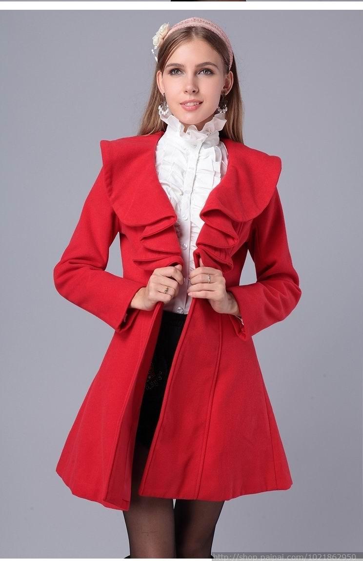 2017 Women Coat Parka Fashion Slim Fit Gossip Girl Outwear