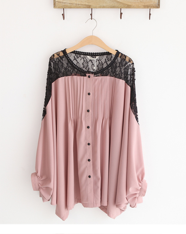 Fashion loose ladies blouses women chiffon blouses sexy for Starch on dress shirts