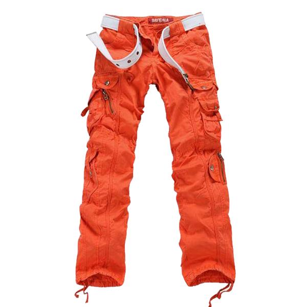 Beautiful Sessions Women39s 39Tracker39 Orange Cargo Snowboard Pants L  Ultra
