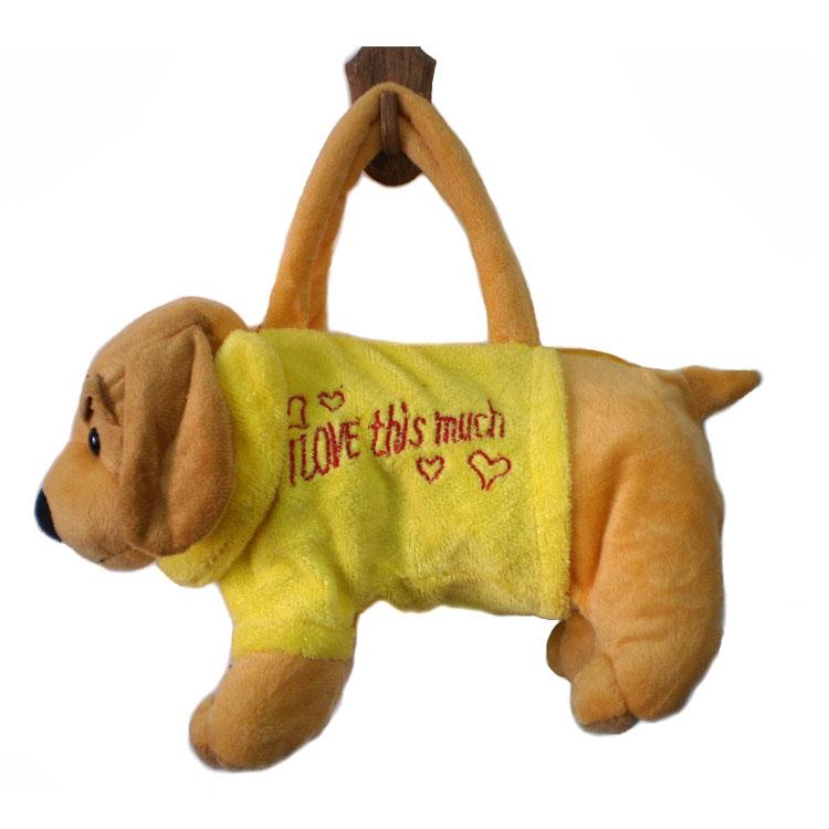 Купить сумку в виде мягкой игрушки