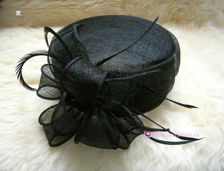 Pale Pink Fascinator Hats Sinamay Hat For Weddings Hair