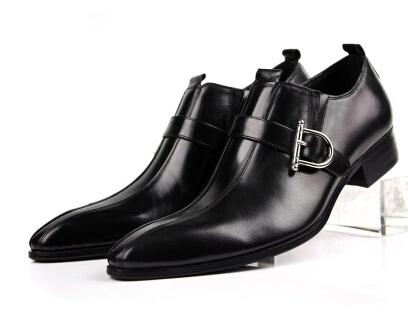 hot sale 2015 brand men dress shoes genuine leather smart
