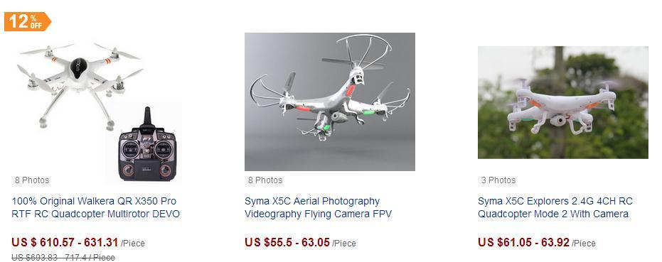 航拍器释放市场潜力 摄影器材设新类目响应海外需求