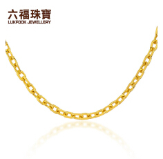 六福金项链