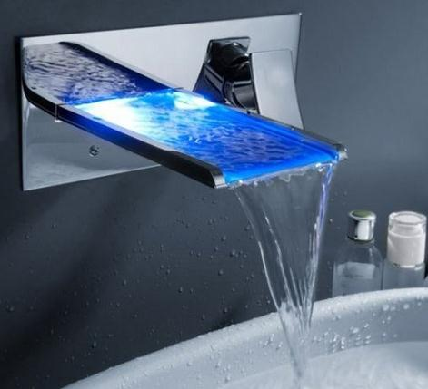 智能LED水龙头