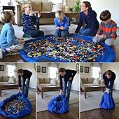 Tragbare Spielzeug-Matten-Beutel