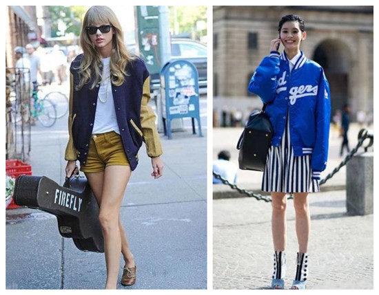 女装棒球外套