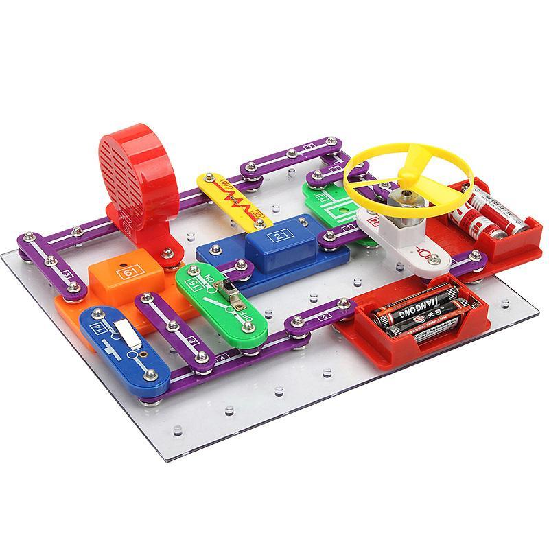 Electronic Block Kit Assembling Toys