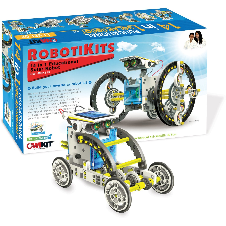 14-in-1 Solar Energy Power Robot