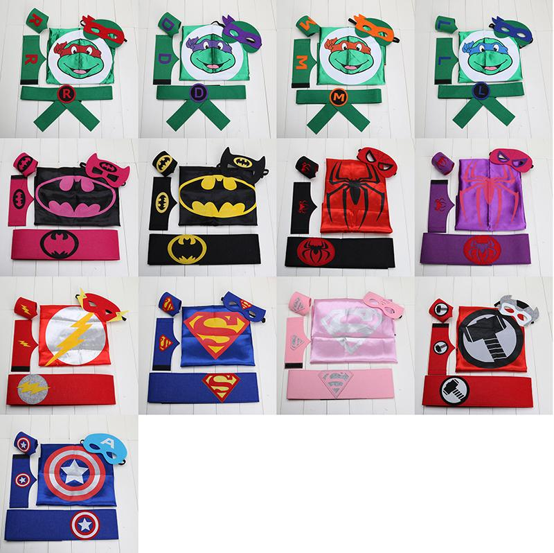 Superhero Mask Set