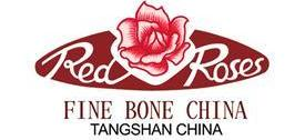 red rose fine bone china