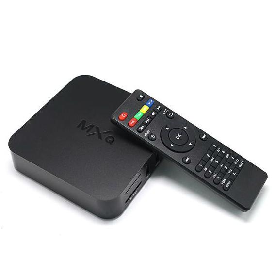 Android 4.4 MXQ la Boîte de TV de Quad Core 8G Amlogic S805 4K la Boîte de Smart TV XBMC KODI16.1 WIFI àchargement complet Support 3D