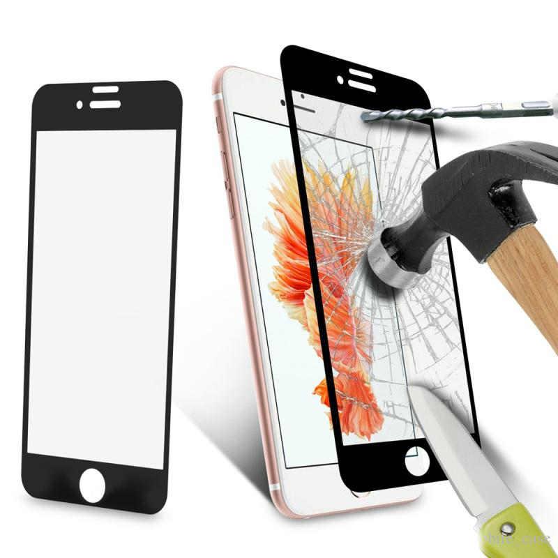 Écran plat de protection en verre tempéré Protecteur d'écran 9H Dureté pour Iphone 7 6 5 6s Plus Huawei P8 Lite 2017 P9 Lite P9 avec paquet de détail
