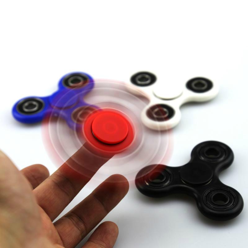 EDC HandSpinner Finger Spinner Spirale Fingers Gyro Acier Roulements à billes Acrylique Spinner à main avec emballage de détail