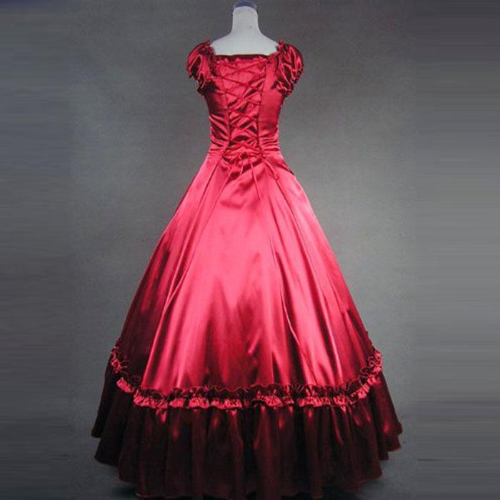 Wholesale-lolita dress Adult princess belle costume gothic victorian ...