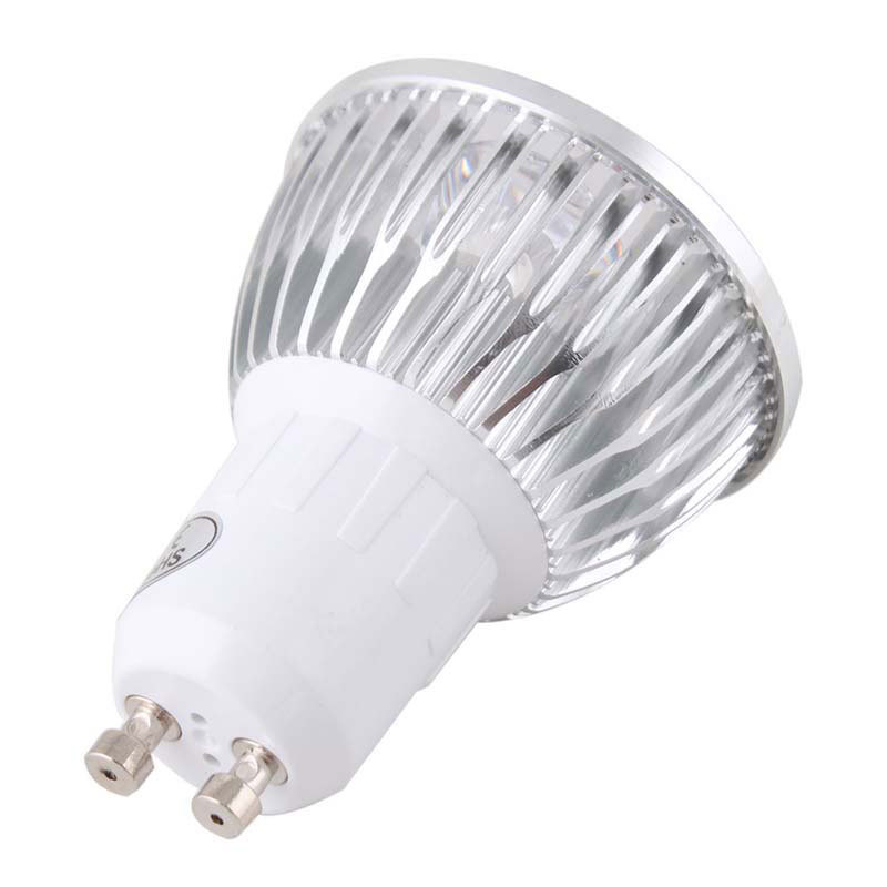 Wholesale-Hot Sale GU10 12W 4x3W 4LED Dimmable Warm Pure White 110V Light Spotlight Bulb Downlight #50949