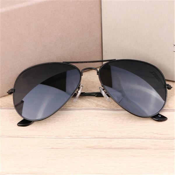 Metal Outdoor Triangular Pilot Sunglasses