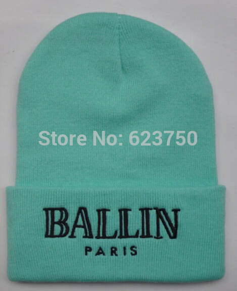 c9587399da5 Wholesale-2015 Winter New Color BALLIN PARIS Beanies Knitted ...