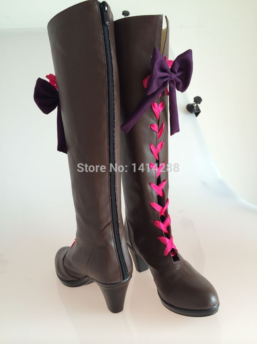 wholesale-1 pair costum made alois trancy shoes boots from black