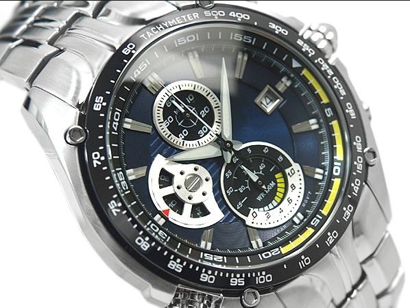 NAVIFORCE 9115 Men Watch Luxury Stainless Steel Strap Fashion Quartz Wrist Watch