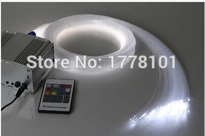 Wholesale-RGB colorful LED plastic Fiber Optic Star Ceiling Kit Light 50pcs1.0mm 2M