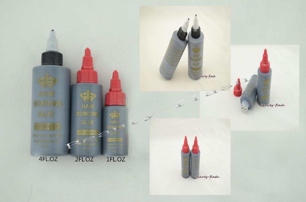 Wholesale-1Bottle/Lot 4Oz about 120ml Hair Weaving Bond Bonding Glue for bond weaving Glue Hold Hair Extension Bonding
