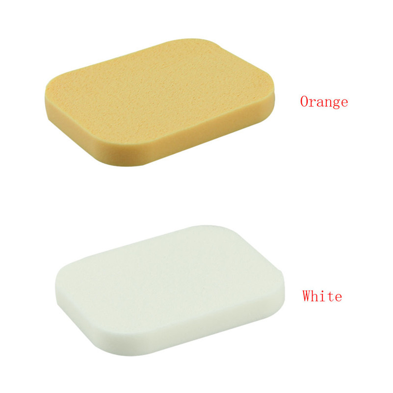 Wholesale-A Stylish 2015 high quality 50Pcs/Lot New Facial Face Sponge Makeup Cosmetic Powder Puff for women