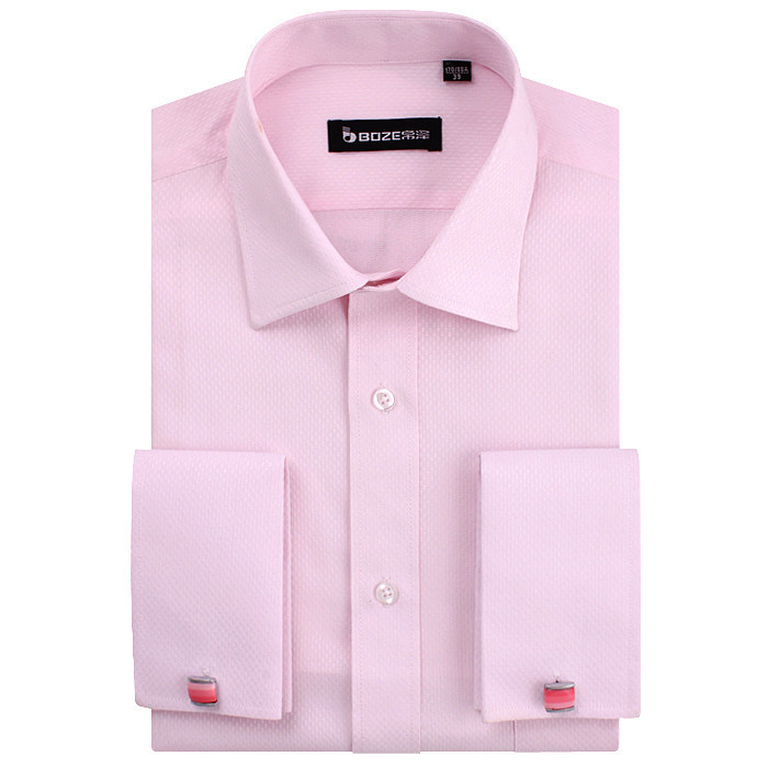 2017 wholesale quality mens classic french cuff shirt for Discount french cuff dress shirts