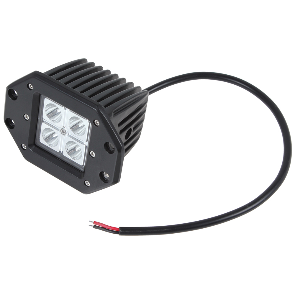Wholesale 4 X 4w High Intensity Leds Work Light Suitable For Wiring Lights Tractor Motorcycle Boat 4wd Offroad