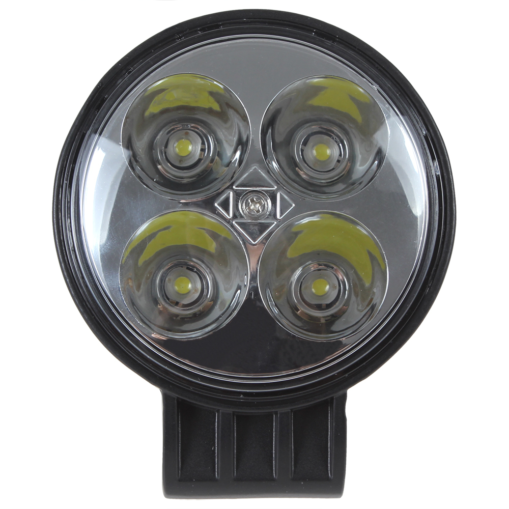Wholesale-780LM 12W 4 x 3W Epistar Bead LEDs Round Offroad LED Work Light