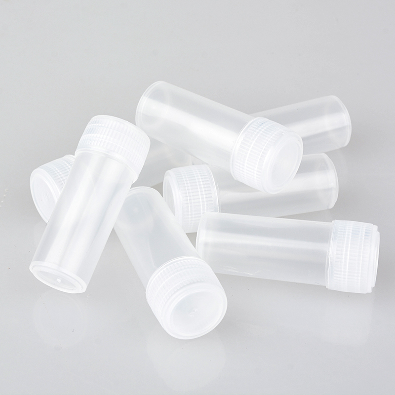 Wholesale 100 Pieces/Lot 5ML Mini Plastic Portable Cosmetic Container Empty Perfume Sample Case For Travel