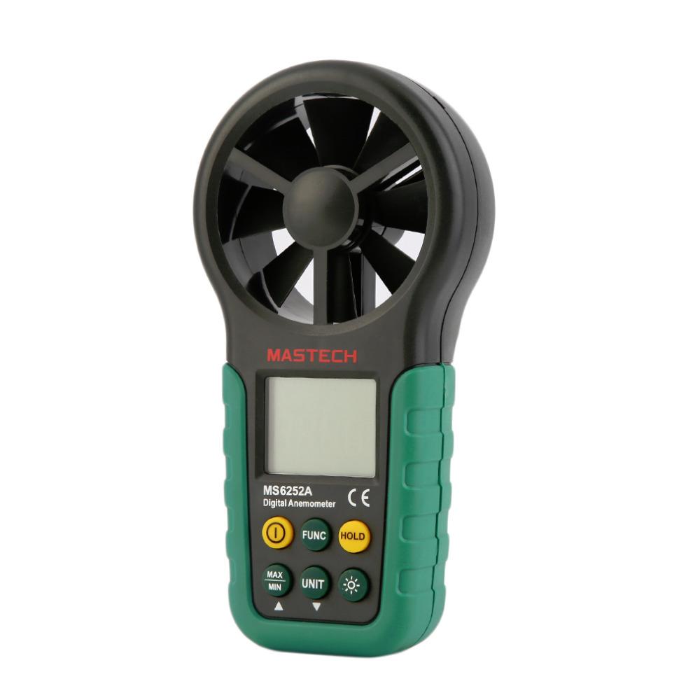 Wholesale-Digital Anemometer Wind Speed Air Volume Measuring Meter LCD Display Stock Offer