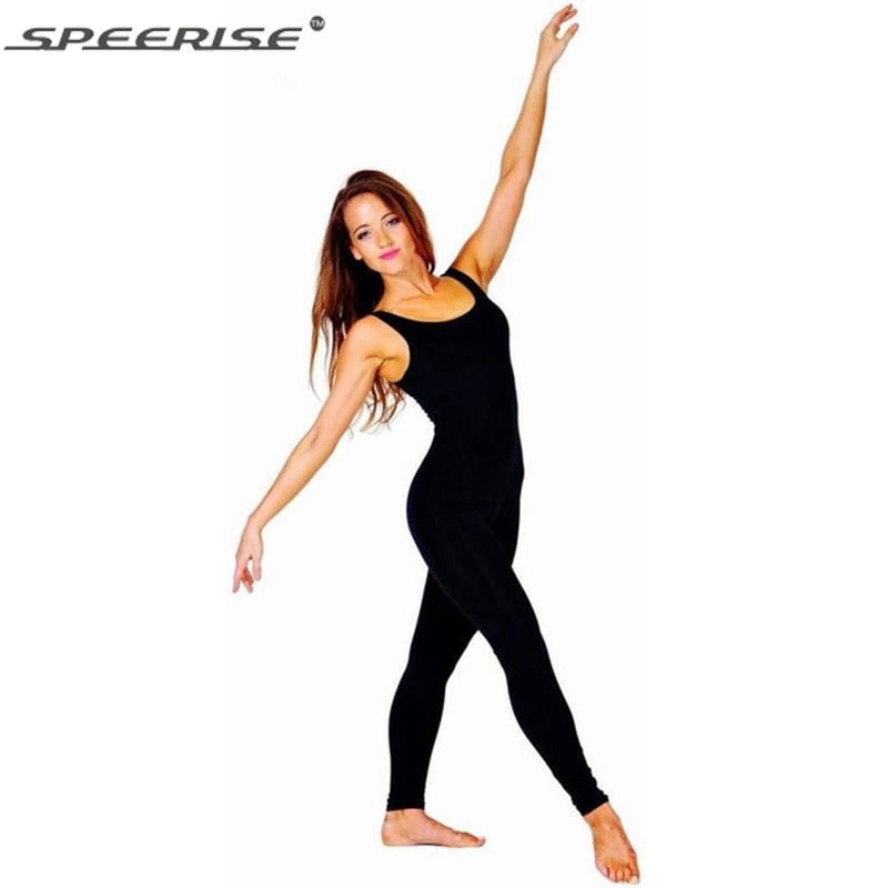 Women/'s Jumpsuit Sleeveless Dance Catsuit Bodysuit Spandex Lycra Costume