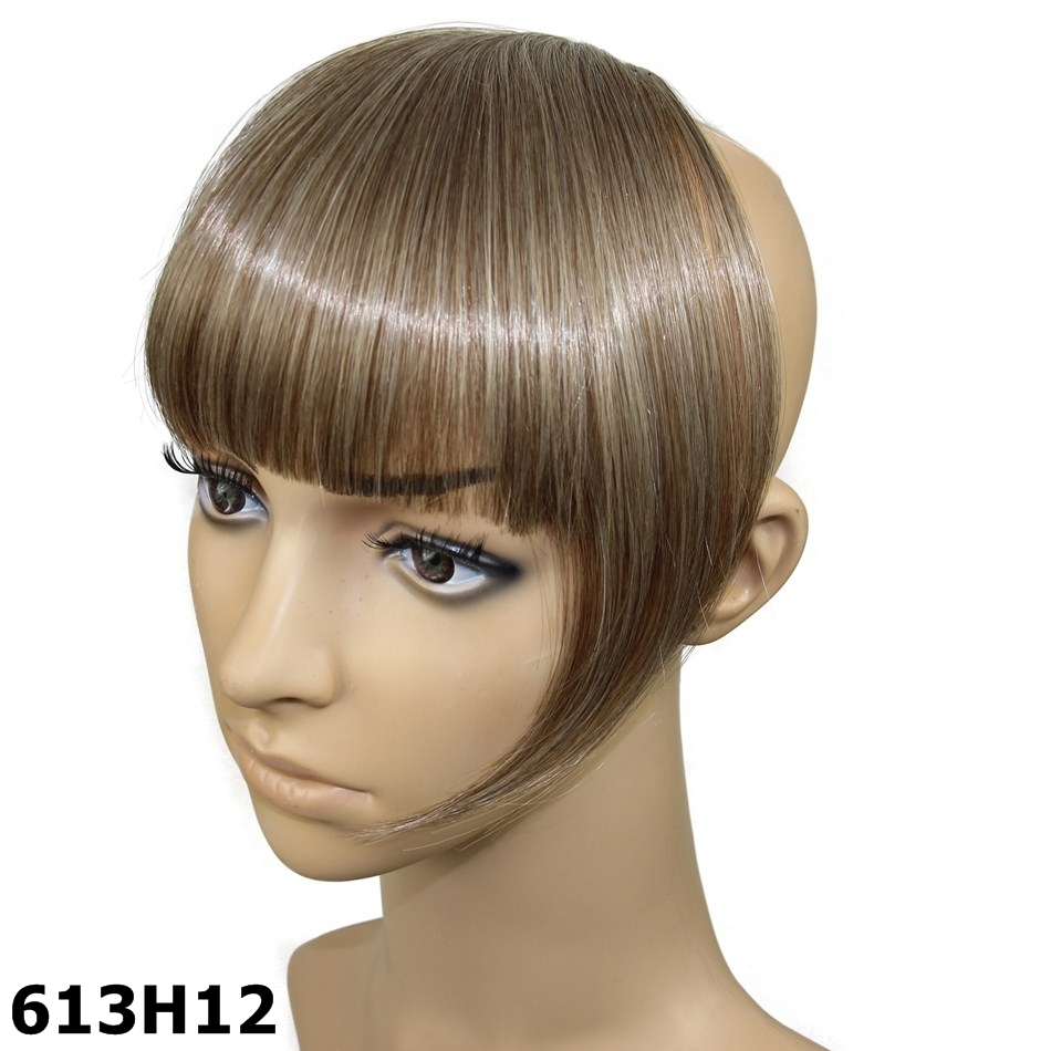 Wholesale Hair Extensions Bangs 2pcs Clips In Synthetic Heat
