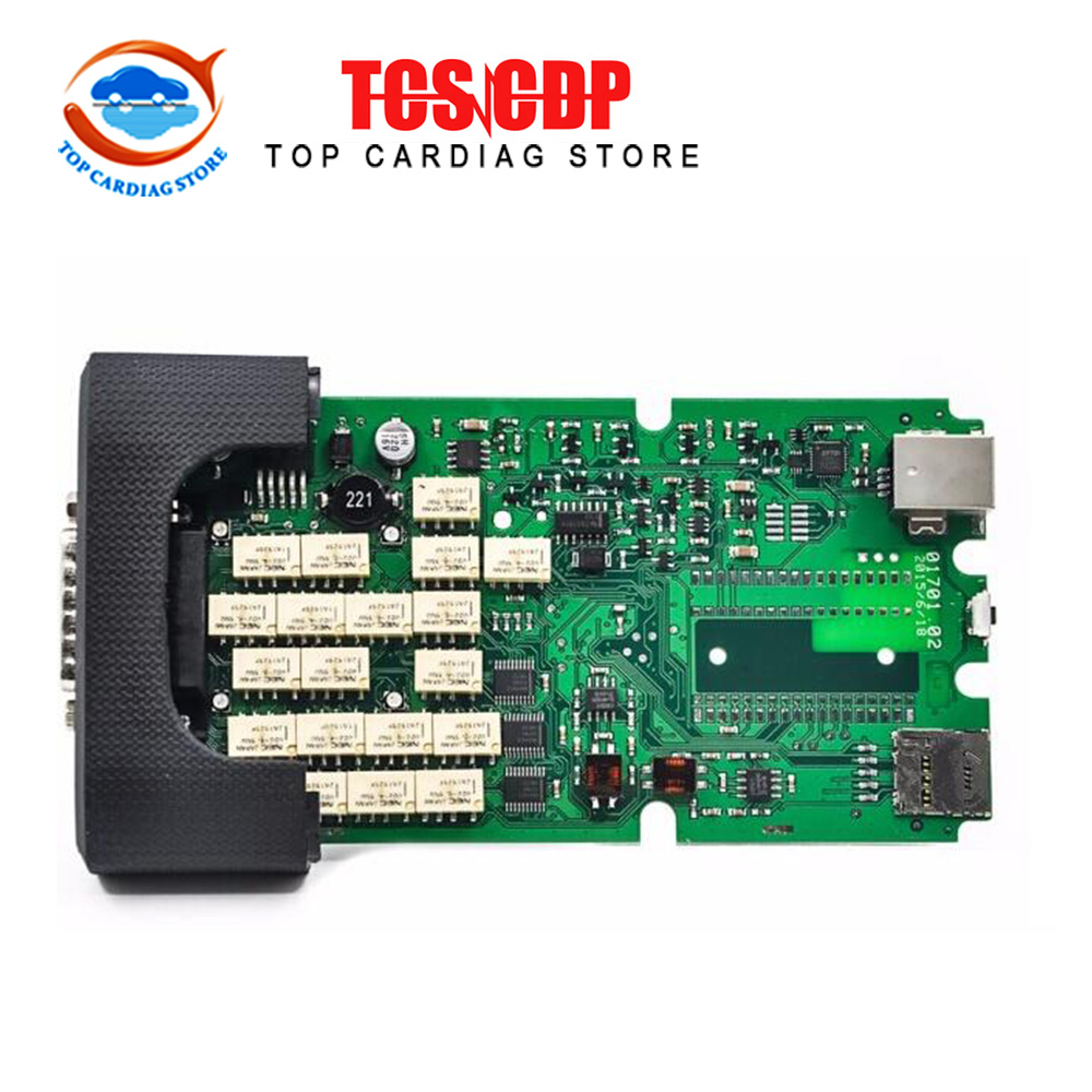 Wholesale-2015 Excellent Quality A+++ TCS CDP PRO scanner without bluetooth 2014.02 Singer Board tcs Scanner with carton box