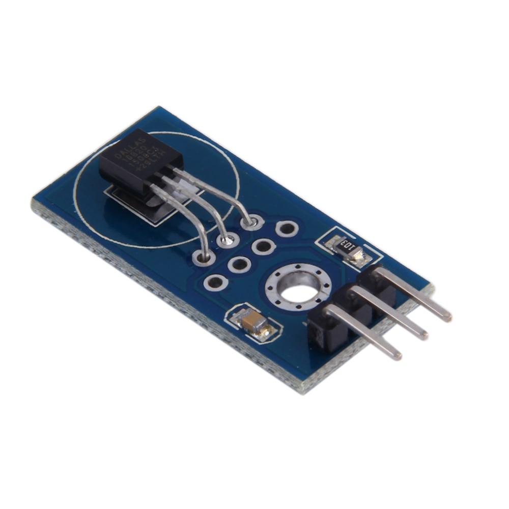 Wholesale-1PC DS18B20 Digital Temperature Sensor temperature Module for Arduino