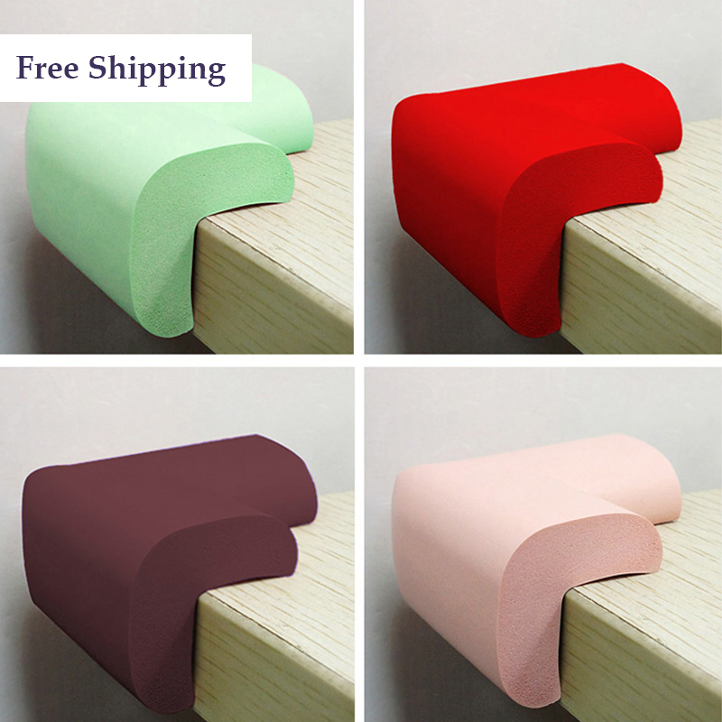 Wholesale- Rubber Table Edge Protection Protectores De La Esquina De Goma Baby Safety Corner Guards Table Protector Bumper Products 60T005