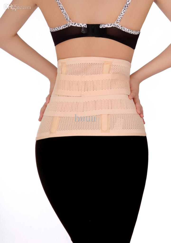 Women Postpartum straps abdomen strap shapers breathable body protection shaper belt straps quick recovery perfect body