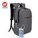 2016 Tigernu Men's Backpacks USB charging Bolsa Mochila for Laptop 14-15Inch Notebook Computer Bags Men Backpack School Rucksack