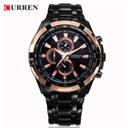 CURREN Luxury Brand Men Watches Stainless Steel Analog Mens Quartz-Watch Fashion Male Wristwatch Sport Clock Relogio Masculino