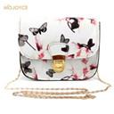 Fashion Women Leather Messenger Bag Flower Floral Handbag Ladies Hand bag Crossbody Bolsa Feminina Small Shoulder Bag sac a main