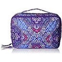 Vera Bradley Large Blush and Brush Makeup Cosmetic Case