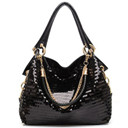 Women messenger Bag Women Handbag Leather Glisten PU Leather Shoulder package cross body bag Tote Cool Sequined Bags