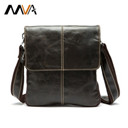 MVA Genuine leather men bag fashion crossbody Leather bag men messenger bags Casual shoulder designer handbags man bags 2016 NEW